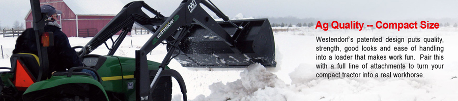 Compact Loaders by Westendorf